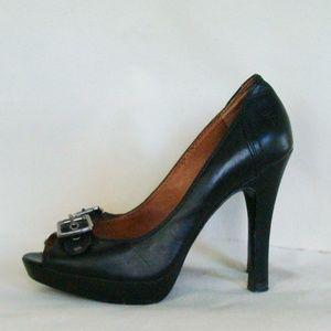 Frye Black Stilettos
